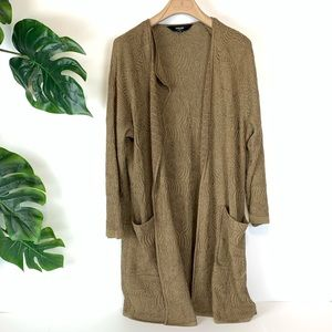 Misook collection gold cardigan jacket